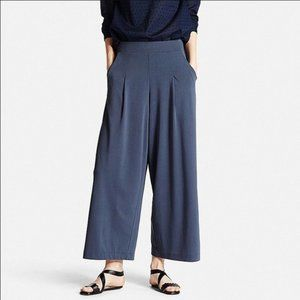 Uniqlo Cropped Wide Leg Pants
